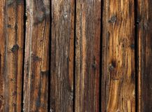 Old board fence close up royalty free stock images