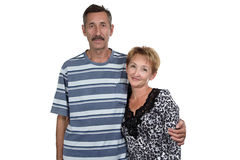 Photo of old woman and man Royalty Free Stock Images
