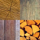 Photo of an old wooden boards texture backgrounds Stock Photo