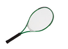 Photo of one racket of tennis Stock Image