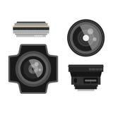 Photo optic lenses Stock Image