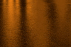 Orange Background Reflection of the river Royalty Free Stock Photos