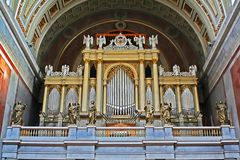Photo of organ Stock Image