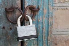 Photo of the padlock Stock Image