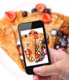 Photo pancakes Stock Photo