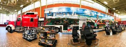 Photo panoramique à l'intérieur de Kenly, relais routier d'OR Photographie stock libre de droits