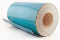 Roll of photographic paper Stock Photo