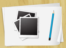 Photo and papers Stock Photos
