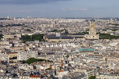 Photo of Paris. From the eiffel tower Stock Photo
