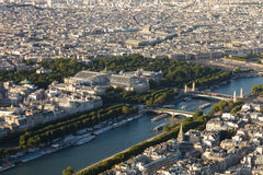 Photo of Paris. From the eiffel tower Stock Photos