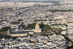 Photo of Paris. From the eiffel tower Royalty Free Stock Images