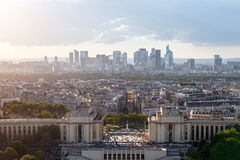 Photo of Paris. From the eiffel tower Stock Image