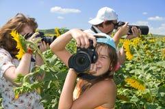 Photo - passe-temps de famille. Image stock