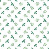 Photo pattern with green leaves Stock Image