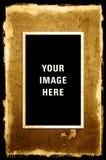 Photo on Peeling Textured Grunge Background Royalty Free Stock Photography