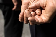 Photo of Person's Hands Royalty Free Stock Photography