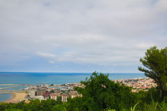 Photo of Pesaro city on the sea, marche Stock Photography
