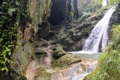 Water Splash Waterfall Royalty Free Stock Images