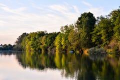 Wild Brenta River Royalty Free Stock Image