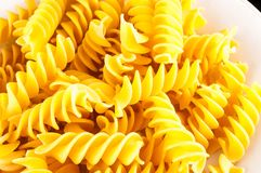 Italian Style Pasta Food. Photo Picture of the Classic Italian Style Pasta Food royalty free stock image