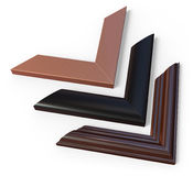 Photo / picture frame corners Stock Images