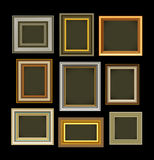 Photo picture frames vintage Stock Image