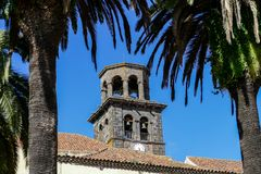 Photo Picture Image of old colonial buidings in la laguna tenerife canary islands spain. Photo Picture Image of old colonial buidings in la laguna tenerife Royalty Free Stock Photo