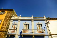Photo Picture Image of old colonial buidings in la laguna tenerife canary islands spain. Photo Picture Image of old colonial buidings in la laguna tenerife Royalty Free Stock Image