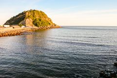 Town of Getaria Basque Country Spain stock images