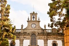 Small Church in Las Palmas Spain. Photo Picture of a Small Church Las Palmas in Spain Stock Photos