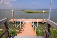 Landscape The Po Delta. Photo pictureLandscape of The Po Delta River in Italy Royalty Free Stock Image