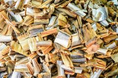 Photo of pieces of dried fish Royalty Free Stock Images