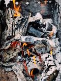 Photo of Pile of Burning Wood Stock Photography