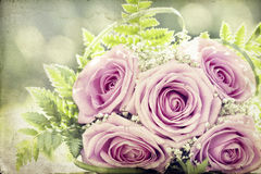 Photo of pink wedding bouquet Stock Photography