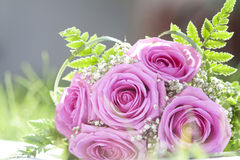 Photo of pink wedding bouquet Royalty Free Stock Photo