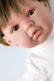 Plastic Female Doll Portrait stock image