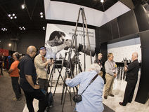 2016 Photo Plus International Expo and Conference Trade Show. Consumers and professionals attend the 2016 Photo Plus International Expo and Conference Trade Show stock images