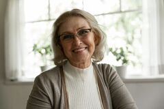 Free Photo Portrait Of Happy Elder OAP 60s Woman Wearing Glasses Royalty Free Stock Image - 211832696