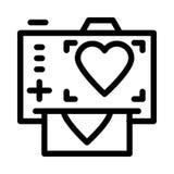 Photo print icon vector illustration