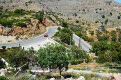 Photo prise sur l'île grecque de Rhodes Image stock