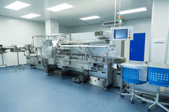 Photo production, clean room with stainless steel hardware Stock Photography