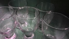 Photo property five glass beautiful royalty free stock image