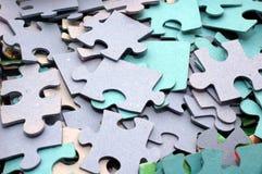 Photo puzzle Stock Photos