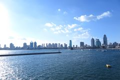 Photo of qingdao. Shoot in 2015.qingdao coast. afternoon royalty free stock images