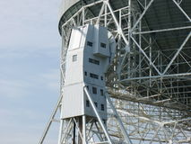 Radar Dish. A photo of a radar dish in the Chessire Countryside Royalty Free Stock Image