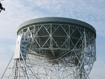 Radar Dish. A photo of a radar dish in the Chessire Countryside Royalty Free Stock Photo