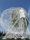 Radar Dish. A photo of a radar dish in the Chessire Countryside Royalty Free Stock Photos