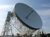 Radar Dish. A photo of a radar dish in the Chessire Countryside Royalty Free Stock Images