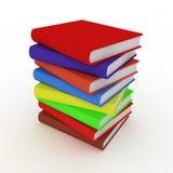 Photo Realistic Books stock illustration