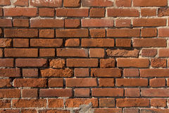 Photo of red brick wall Stock Photography
